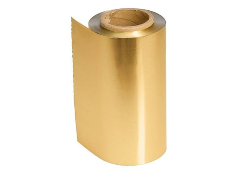 Sinelco Aluminium Folie 12Cm 480Gr Gold 100Mt 15Mu