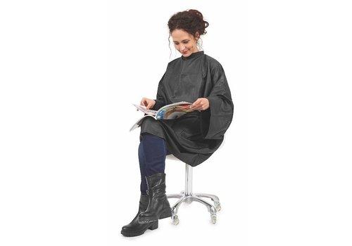 Sinelco Boa Kapmantel M/Relief Zwart Velcro Sluiting Sibel