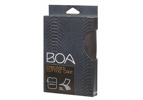 Sinelco Boa Kaplaken M/Relief Zwart Velcro Sluiting Sibel