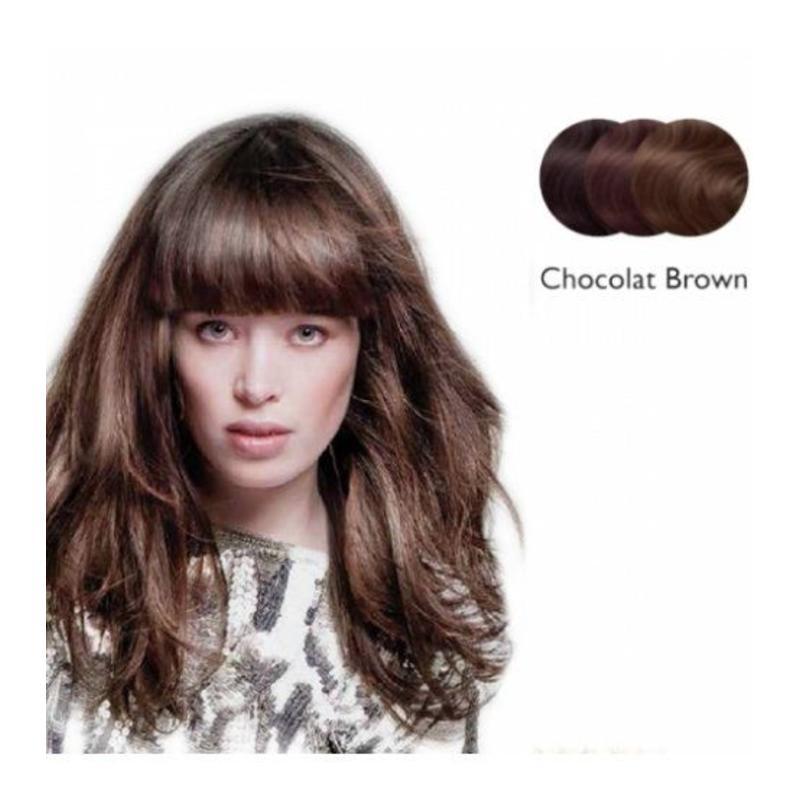 Balmain Clip-In Fringe Chocolat Brown