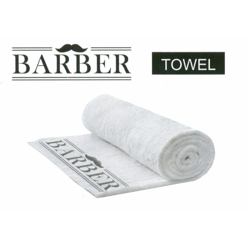Handdoek Barber Met Snor Motief