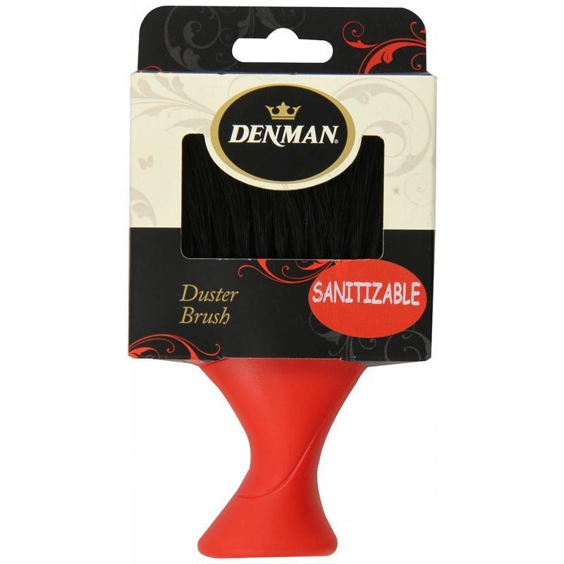 Denman D78 Nekborstel Zwart/Rood