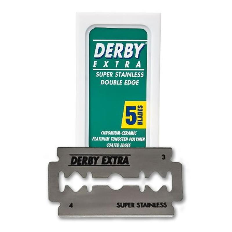 Derby Scheermesjes 5 St.