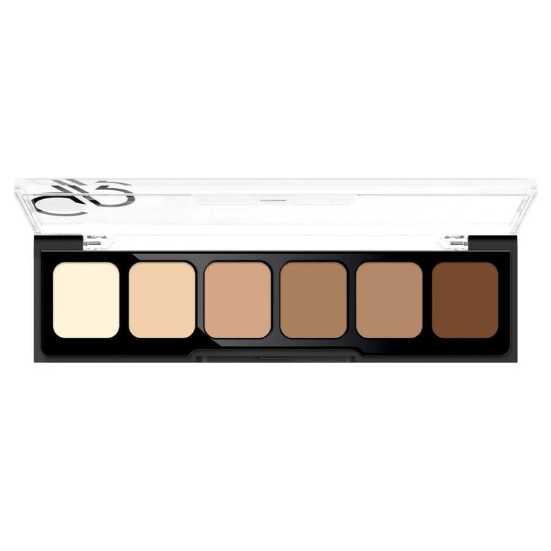 Concealer Palet 02 Medium To Dark