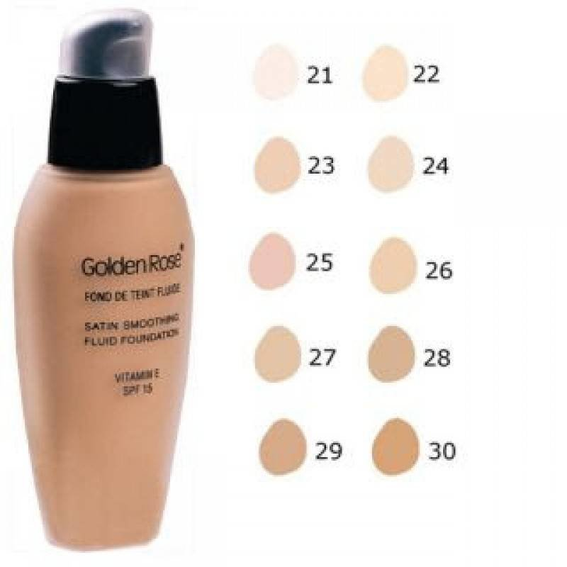 Golden Rose Tester Fluid Foundation Nr. 29