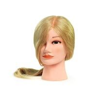 Oefenhoofd Bratt Dame Lang Blond Echt Haar CH-807 9867