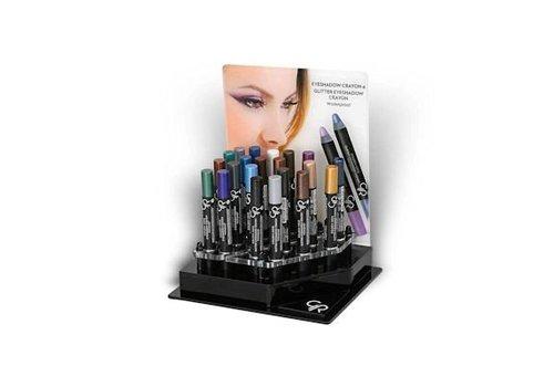 Golden Rose GR Eyeshadow Crayon Display