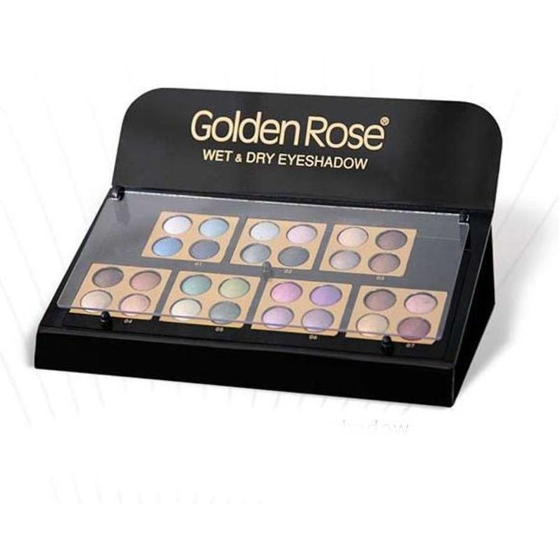 Golden Rose Wet & Dry Display