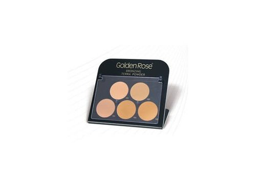 Golden Rose Golden Rose Bronzing Terra Powder Display