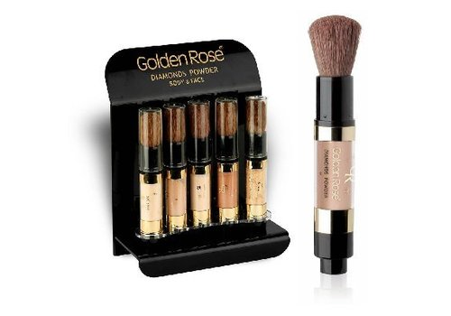 Golden Rose GR Diamonds Powder Display