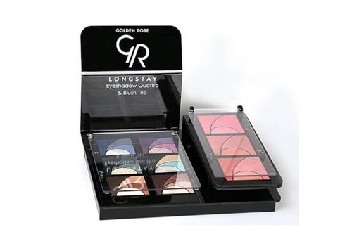 Golden Rose Golden Rose Longstay Eyeshadow & Blush Display