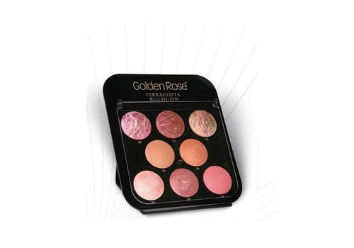 Golden Rose Golden Rose Terracotta Blush-On Display