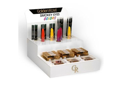 Golden Rose Golden Rose Smokey Eyes Colors Display