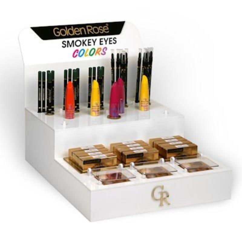 Golden Rose Smokey Eyes Colors Display