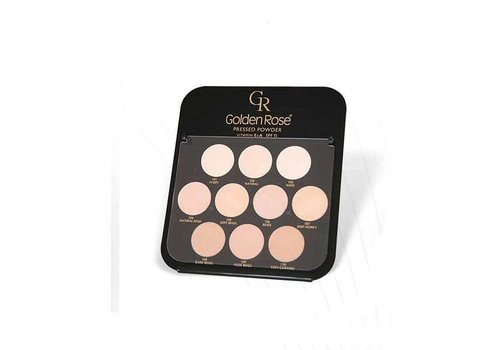 Golden Rose Golden Rose Pressed Powder Display