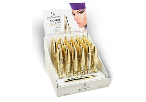Golden Rose Golden Rose Wonder Lash Mascara Display