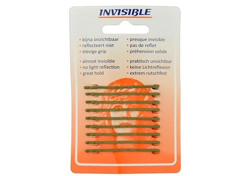 Invisible Invisible Blend-Rite Schuifjes 5cm Kort Blond