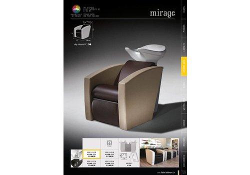 Salon Ambience Mirage Shampoo Unit Zwarte Wasbak