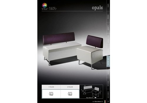 Salon Ambience Opale Single Seater Pouf