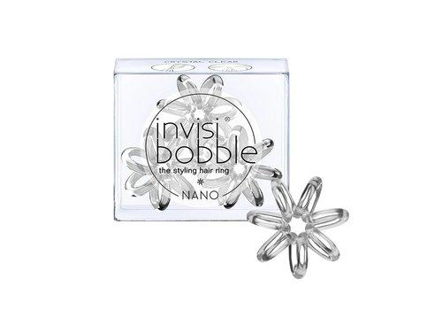 Invisibobble Invisibobble Nano Elastiek Crystal Clear 3 Stuks