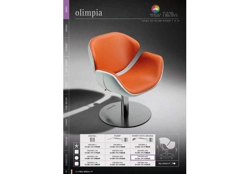 Salon Ambience Olimpia Plastic Backrest Cover Zwart Strip