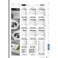 Wall System Wit 80 Top Cabinet Open