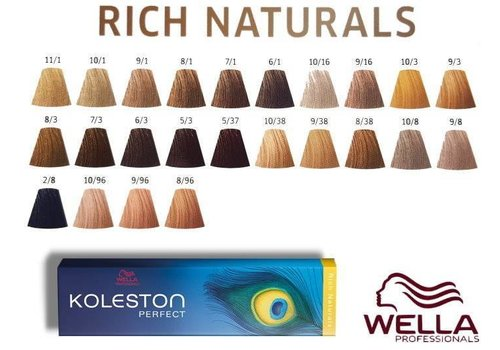 Wella Wella Koleston Rich Naturals 10/38 60ML