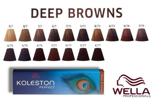 Wella Wella Koleston Deep Browns 8/74 60ML