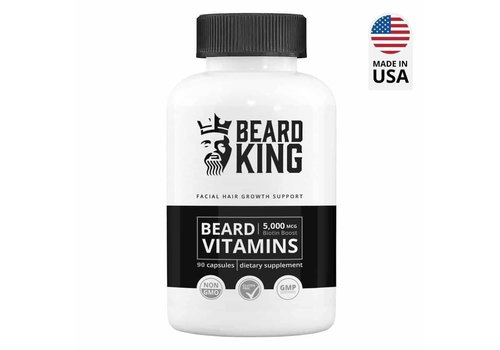 Beardking Beard Vitamins