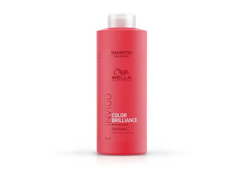 Wella Wella Invigo Color Brilliance Shampoo Fijn/Normaal 1000 ML