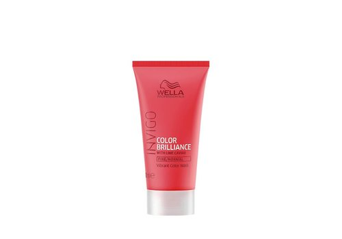 Wella Wella Invigo Color Brilliance Mask Fijn/Normaal 30 ML