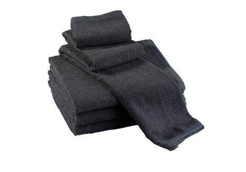 Wevotex Handdoek Wevotex Zwart 50X100 Cm