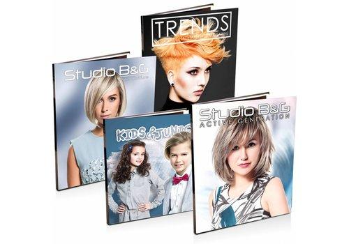 Modellenboek Set 3 Stuks 2018-01