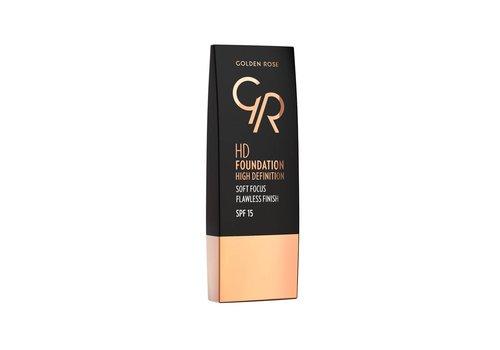 Golden Rose GR Hd Foundation 114 Warm Honey