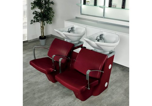 Salon Ambience Salon Ambience Compact Wash Red/White
