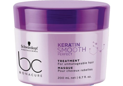 Schwarzkopf Schwarzkopf BC Keratin Smooth Perfect Treatment 200ml