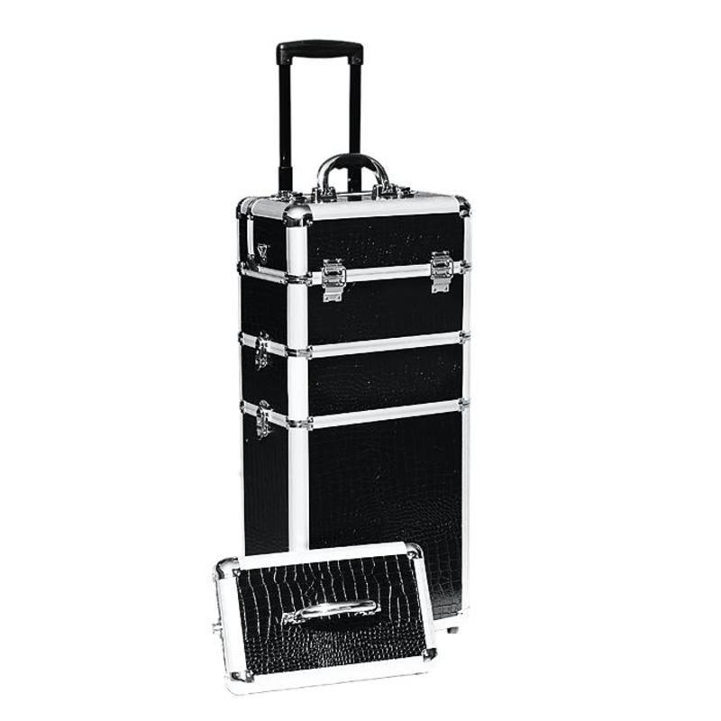 Alu Koffer Efa Compact Zwart