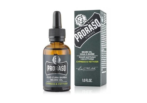 Proraso Proraso Beard Oil Cypress & Vetyver 30ml