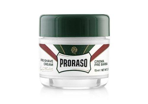 Proraso Proraso Groen Pre Shave Creme 15 ml