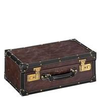 Vintage Set Lederen Koffer