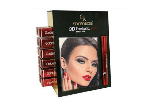 Golden Rose GOLDEN ROSE FANTASTIC LASH 3D MASCARA DISPLAY