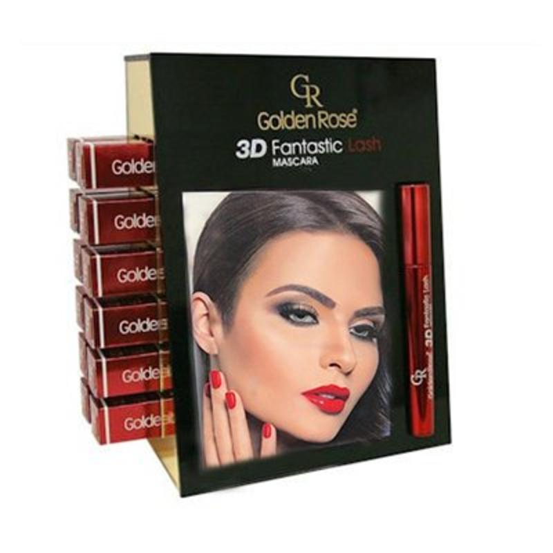Golden Rose Fantastic Lash 3D Mascara Display