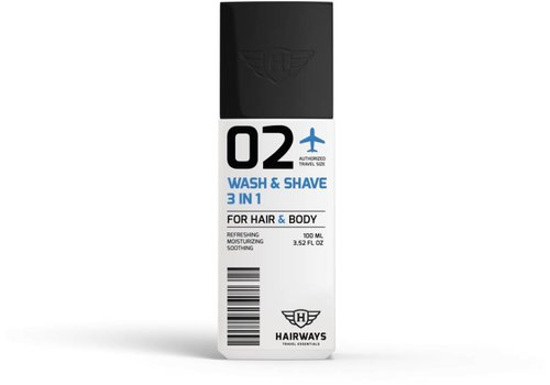 Hairways Hairways 02 Wash & Shave 3-In-1 100 ML