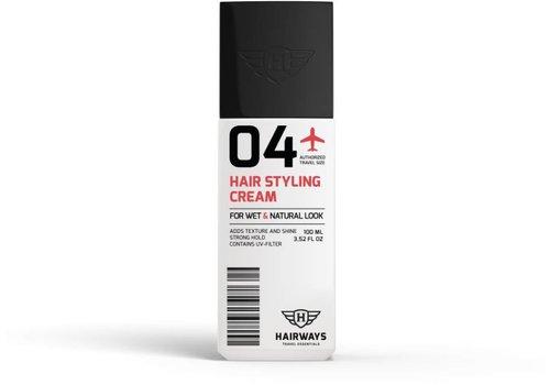 Hairways Hairways 04 Hair Styling Cream 100 ML