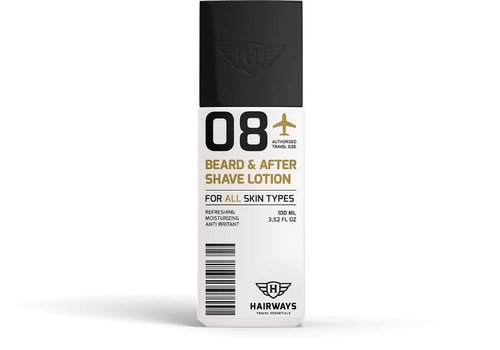 Hairways Hairways 08 Beard & After Shave Lotion 100 ML