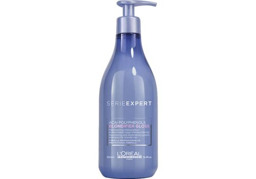 Loreal Loreal Serie Expert Blondifier Gloss Shampoo 500 ML