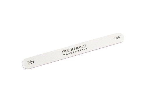 Pronails Pronails Master File Straight 100/100 6 stuks