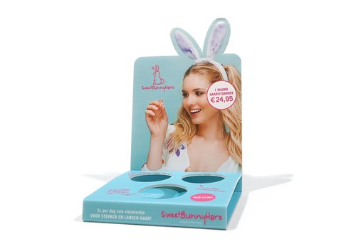 Sweet Bunny Hare  Small Display Leeg