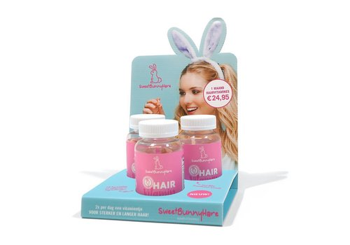 Sweet Bunny Hare Set 9 Stuks + Gratis Display