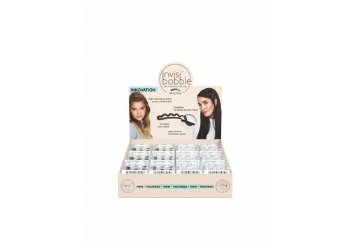 Invisibobble Invisibobble Waver Display 24 doosjes a 3 stuks